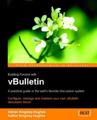 Building Forums with vBulletin cover